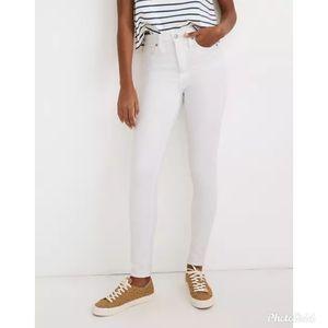 "🆕️ Madewell 10"" High Rise Skinny Jeans"